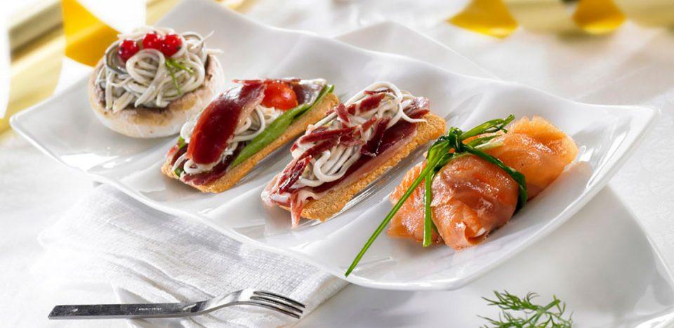 paquetito de salmón con relleno de la gula del norte