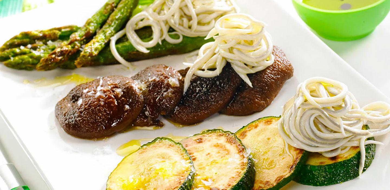 Parrillada de verduras con la gula del norte la gula for Parrillada verduras